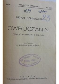 Owruczanin, 1927 r.