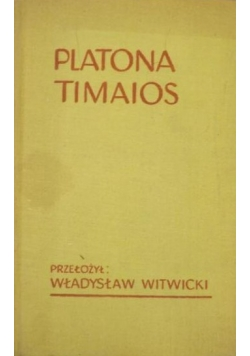 Platona Timaios i Kritias