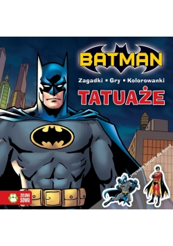 Tatuaże. Batman