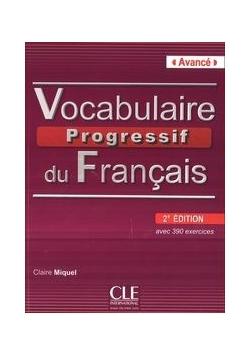 C. - Vocabulaire Progressif du Francais Avance książka z CD 2 edycja