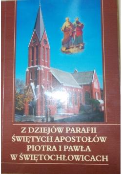 Z dziejów parafii świętych apostołów piotra i pawła w świętochłowicach