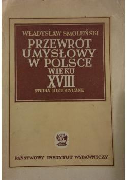 Przewrót umysłowy w Polsce wieku XVIII, 1941 r.