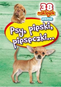Psy, pieski, pieseczki - 38 naklejek