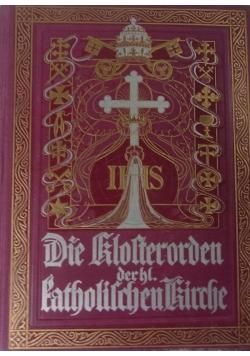 Die Klofterorden der hl. katholischen Kirche. 1901 r.