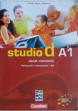 Studio d A1. Język niemiecki. Podręcznik z ćwiczeniami + CD