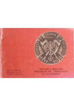 Oznaki i odznaki Polskich Sił Zbrojnych na zachodzie