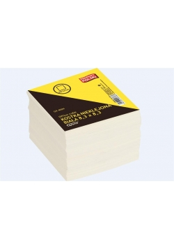 Kostka biała nieklejona 8,3x8,3 400 kartek GRAND
