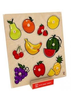 Puzzle z uchwytami - Owoce