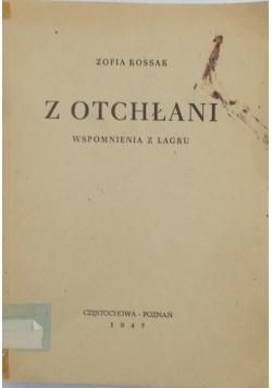 Z otchłani, 1947 r.