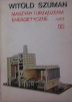Maszyny i urządzenia energetyczne, Część I