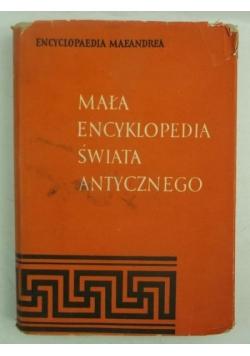 Mała encyklopedia świata antycznego,Tom I