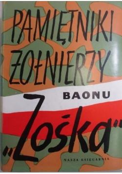 """Pamiętniki żołnierzy baonu """"Zośka"""""""