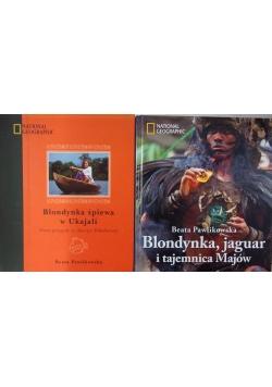 Blondynka, jaguar i tajemnica Majów/Blondynka śpiewa w Ukajali