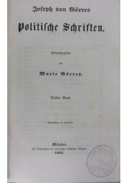 Joseph von Gorres politische Schriften, 1855 r.