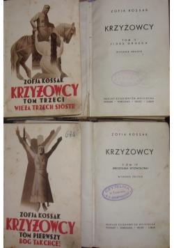 Krzyżowscy, tom I-IV, 1937 r.