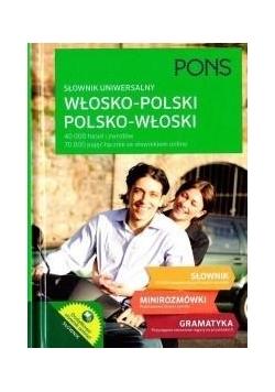 Słownik uniwersalny włosko-polski / pol-wł TW PONS