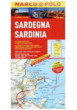 Mapa Drogowa Marco Polo. Sardynia 1:200 000