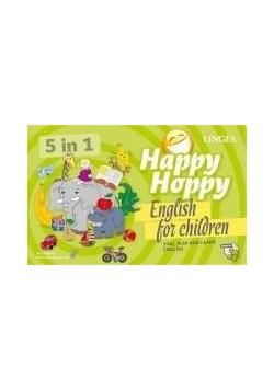 Happy Hoppy. Gry i zabawy z angielskim w.2 LINGEA