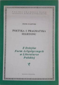 Poetyka i pragmatyka felietonu