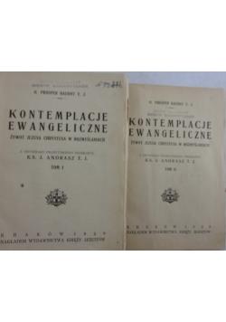 Kontemplacje Ewangeliczne Tom I i II, 1929 r.