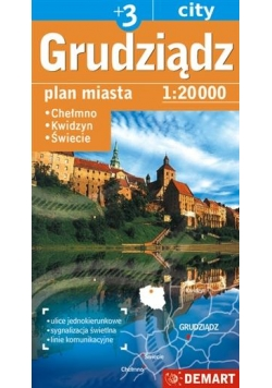 Plan miasta Grudziądz +3 1:20000