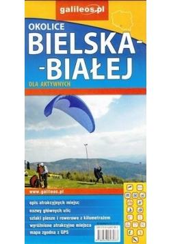 Mapa dla aktywnych-Olkolice Bielsk-Białej 1:50 000