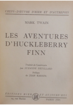 Les Aventures D' Huckleberry Finn, 1948 r.
