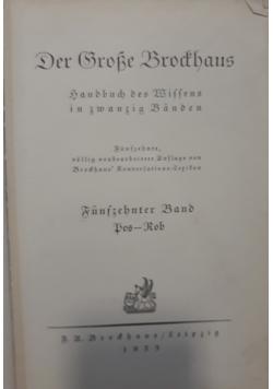 Der Grrobe Brochaus, 1933 r.