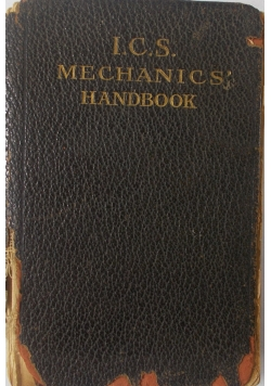 The mechanik handbook, 1900 r.