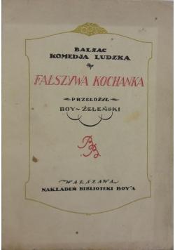 Fałszywa kochanka, 1926 r.