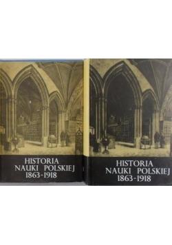 Historia Nauki Polskiej. Tom IV część I,II III