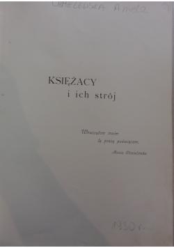 Księżacy i ich strój, 1930 r.