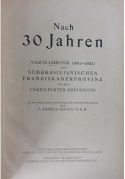 Nach 30 Jahren, 1922r.