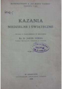 Kazania niedzielne i świąteczne, tom II 1906 r.