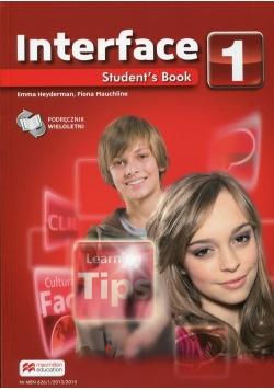 Interface 1 Student's Book Podręcznik wieloletni