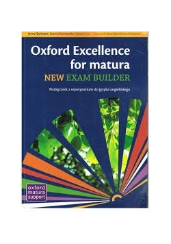 Oxford Excellence for matura new ewxam builder