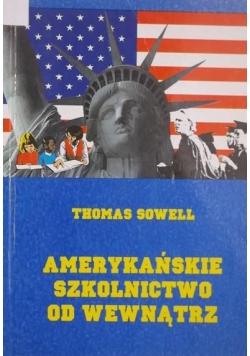 Amerykańskie szkolnictwo od wewnątrz