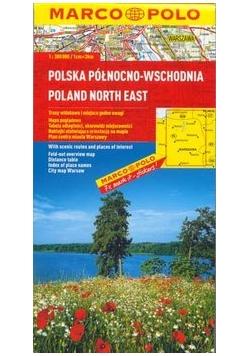 Mapa Marco Polo Regionalkarte Polen Nordost 1 : 300 000