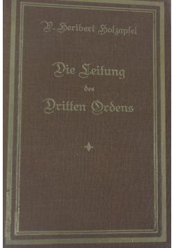 Die Leitung des Dritten Ordens, 1925 r.