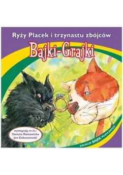 Bajki - Grajki. Ryży Placek i trzynastu zbójców CD