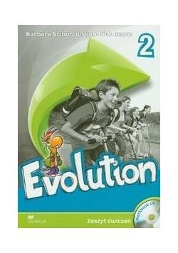 Evolution 2 Zeszyt ćwiczeń z płytą CD
