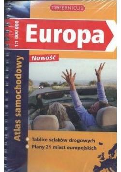 Europa, Atlas samochodowy