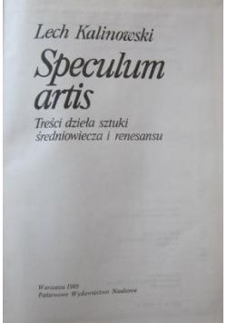 Speculum artis