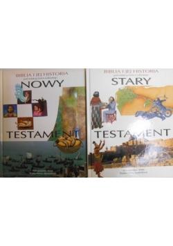 Nowy Testament, Stary testament 2 książki