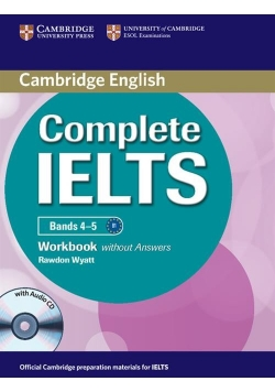 Complete IELTS Bands 4-5 Workbook without Answers + CD