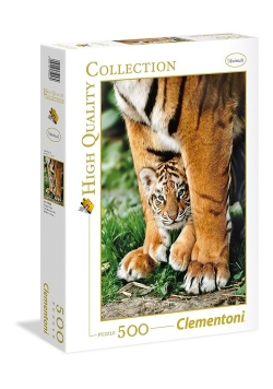 Puzzle High Quality Collection Bengal Tiger Cub 500