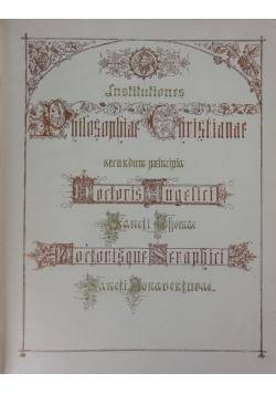 Christian Philosophy, 1932 r.