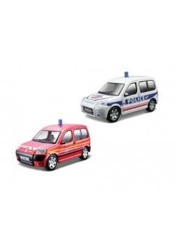 Citroen Berlingo policja straż 1:50 BBURAGO