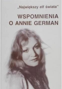 Wspomnienia o Annie German
