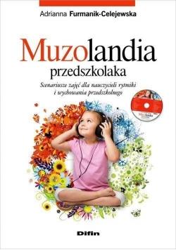 Muzolandia przedszkolaka + CD DIFIN
